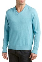 Alex Cannon Marled V-neck Sweater.