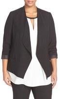 Vince Camuto Plus Size Women's Drape Front Blazer