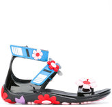 Prada floral sandals - women - Leather/Patent Leather/rubber - 35