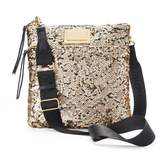 Juicy Couture Sequined Flat Crossbody Bag