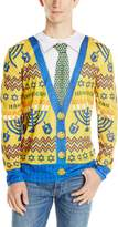 Faux Real Men's Ugly Hanukkah Sweater