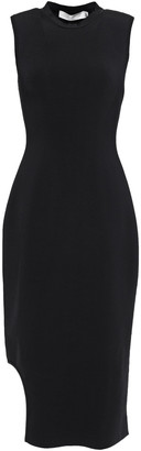 Victoria Beckham Cutout Stretch-knit Sheath Dress