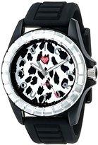 Juicy Couture Women's 1901160 Juicy Sport Analog Display Quartz Black Watch