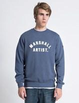 Marshall Artist Light Navy Marque Sweater