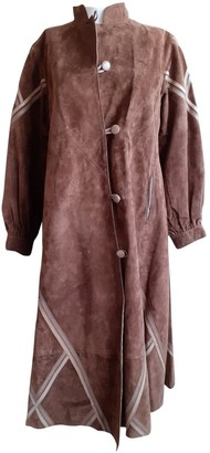 Non Signã© / Unsigned Non SignA / Unsigned Brown Suede Coats