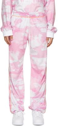 Phlemuns Pink Track Lounge Pants
