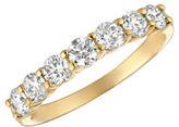 Morris & David Diamond, 1 TCW and 14K Yellow Gold Ring