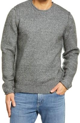 Schott NYC Rolled Collar Sweater
