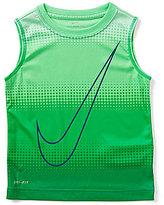 Nike Little Boys 4-7 Half-Tone Gradient-Dot Muscle Tee