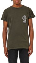 Topman Lithium Graphic Crewneck T-Shirt