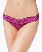 Hanky Panky Cross-Dyed Lace Original Rise Thong 591104