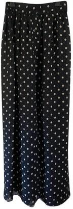 Thakoon Black Silk Skirt for Women