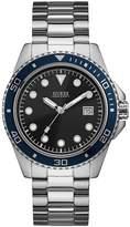 Guess Men's Stainless Steel Bracelet Watch