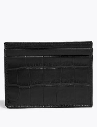 Marks and Spencer Leather Cardsafe Card Holder