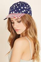 Forever 21 Stars and Stripes Baseball Cap