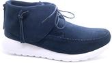 Signature Navy Onnea Suede Sneaker