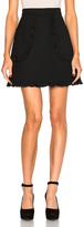 RED Valentino Scalloped Mini Skirt