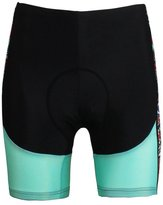 KMFEEL High Quality Green Breathable Women Cycling Shorts 2XL