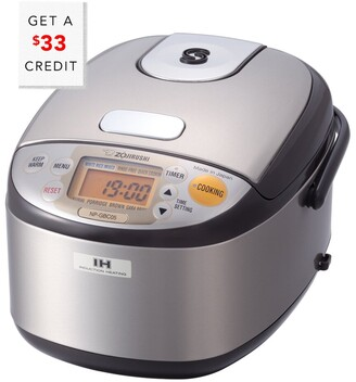 Zojirushi 3-Cup Induction Heating Pressure Rice Cooker & Warmer