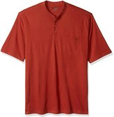 Wolverine Men's Big and Tall Knox Wicking Pocketed Short Sleeve Henley T-Shirt