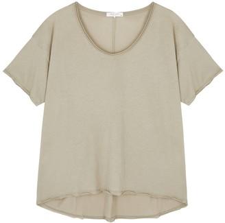 Rag & Bone Gaia green Pima cotton T-shirt