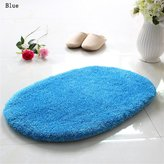 Carpet TOYM US- Slip mat absorbent mats doormat room hall bathroom mats oval mat ( Color : , Size : )