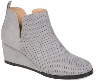 Journee Collection Mylee Wedge Bootie