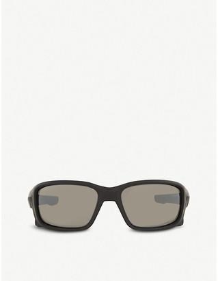 Oakley Oo9331 Straightlink rectangle-frame sunglasses