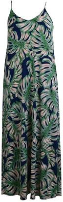 Velvet Torch Floral Pocket Maxi Dress