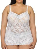 Hanky Panky Plus Size Annabelle Lace Camisole