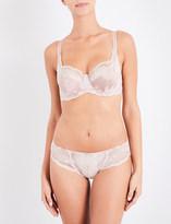 Panache Clara stretch-lace and mesh full-cup bra