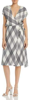 Joie Bethwyn B Plaid Wrap Dress