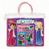 T.S. Shure Fashion-A-Belles Glamour Wooden Magnetic Dress-Up Doll Set