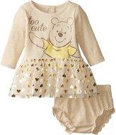 Disney Baby Girls' Pooh 2 Piece Dress Set
