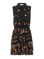 Vanessa Bruno Pixel-embroidered sleeveless dress