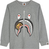 A Bathing Ape Baby Milo Shark cotton T-shirt 4-8 years