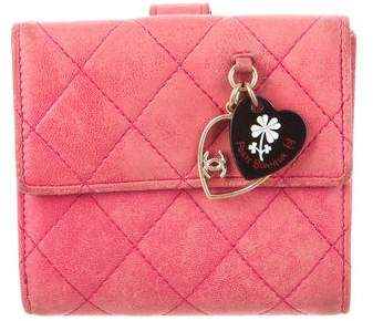 Chanel Quilted Valentine Wallet