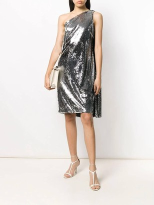 Stella McCartney Silver Sequined Dress