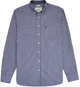 Joules Hensley Stripe Shirt, Navy/white
