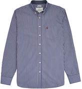 Joules Hensley Stripe Shirt, Navy/white
