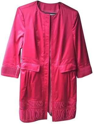 Burberry Pink Cotton Coats