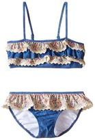 Seafolly Summer Liberty Mini Tube Bikini (Infant/Toddler/Little Kids)