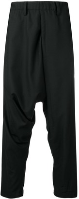 Issey Miyake Drop Crotch Trousers