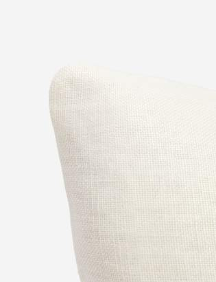 Lulu & Georgia Ines Belgian Linen Lumbar Pillow, Oatmeal