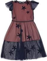 Stella McCartney Starfish Patches Stretch Tulle Dress