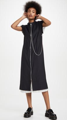 Acne Studios Di Pinstripe Dress