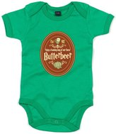 Brand88 Butterbeer, Printed Baby Grow - 3-6 Months