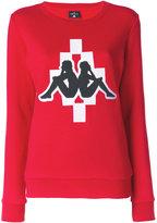 Marcelo Burlon County of Milan x Kappa sweatshirt - women - Cotton/Spandex/Elastane - XS