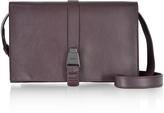 Akris XXS Alice Burgundy Leather Shoulder Bag