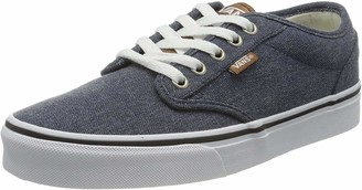 Vans Men's Atwood Canvas Low-Top Sneakers Black (Black) 6.5 UK (40 EU)